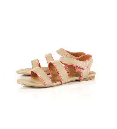 Topshop HIGHLIGHT Patent Sandals