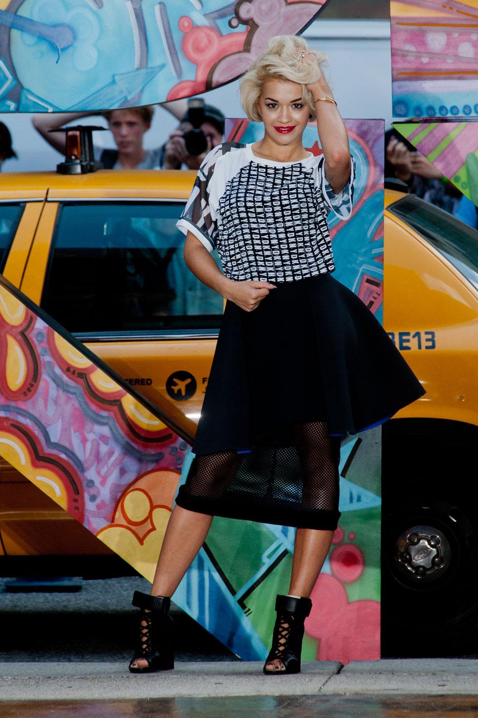 DKNY's Model Behavior