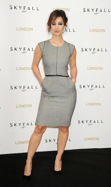 Berenice Marlohe in Dolce & Gabbana