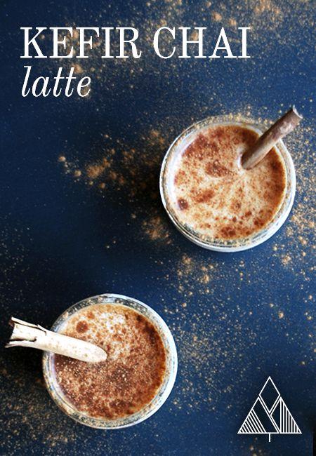 Kefir Chai Latte