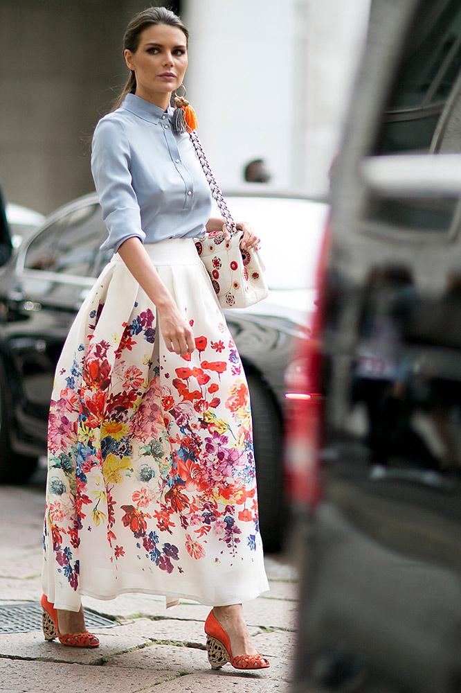 Street Style: 16 Next-Level Ways to Wear Summer Prints ...