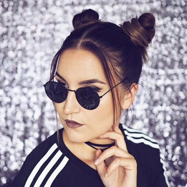 Super Two Buns Hairstyle 19 Ways To Wear Double Buns Thefashionspot Hairstyles For Women Draintrainus