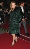 Kylie Minogue Dresses Leopard Up