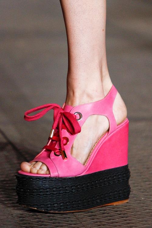 Moschino Cheap & Chic's Barbie-Inspired Platforms