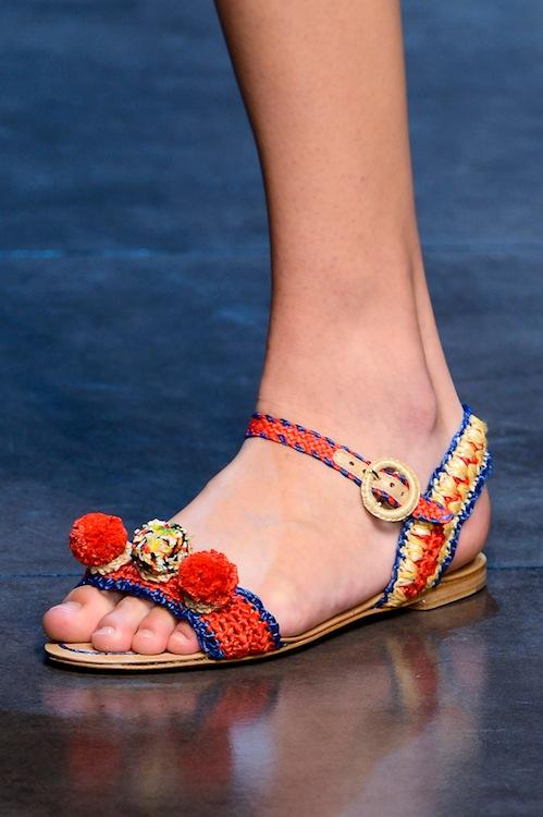 Dolce & Gabbana's Raffia Party Flats