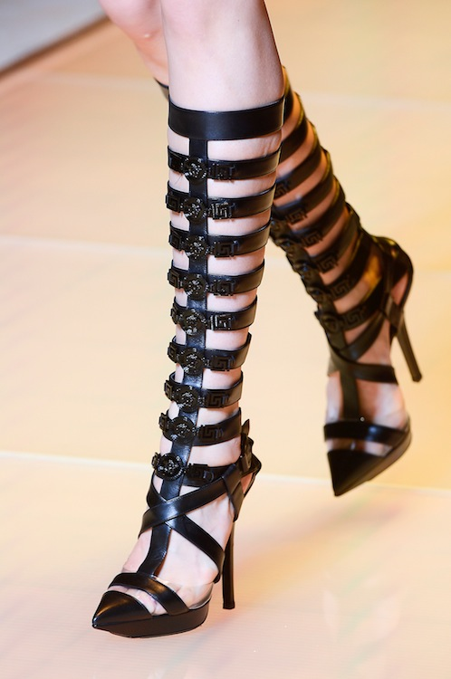 Versace's Dominatrix Gladiator Heels