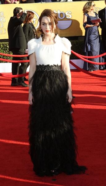 Emilia Clarke in Chanel