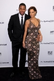 Michael Strahan and Nicole Murphy