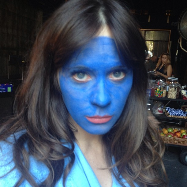Zooey Deschanel's Blue Period