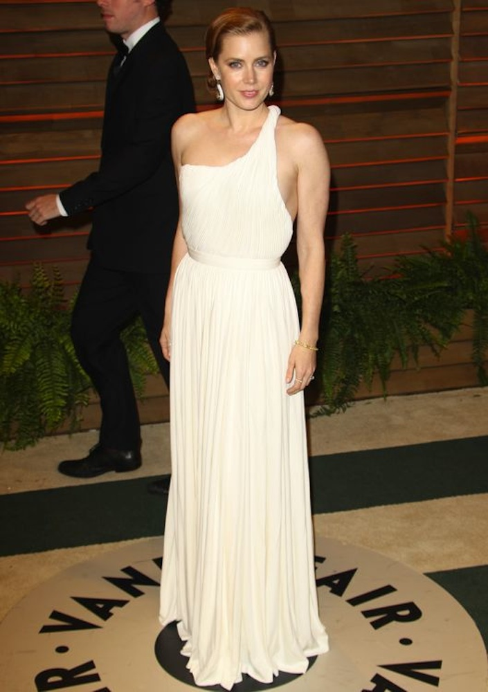 Amy Adams at the 2014 Vanity Fair Oscar Party