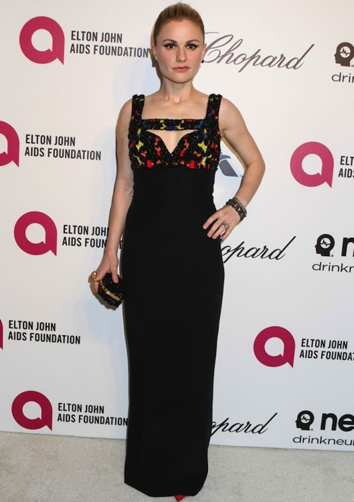 Anna Paquin at the 22nd Annual Elton John AIDS Foundation Academy Awards Viewing Party
