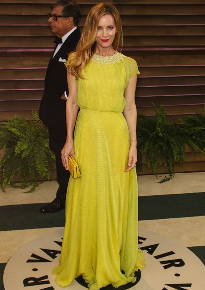 Leslie Mann at the 2014 Vanity Fair Oscar Party