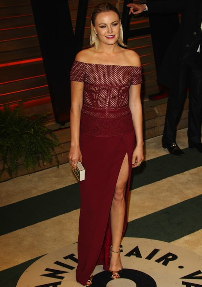 Malin Akerman at the 2014 Vanity Fair Oscar Party