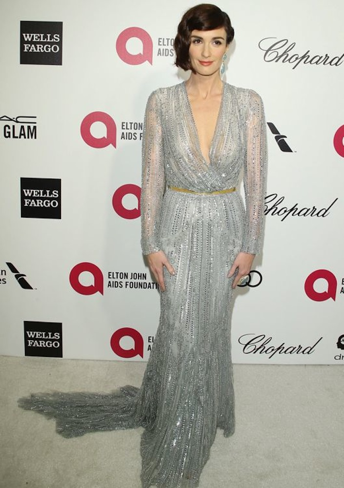 Paz Vega at the 22nd Annual Elton John AIDS Foundation Academy Awards Viewing Party