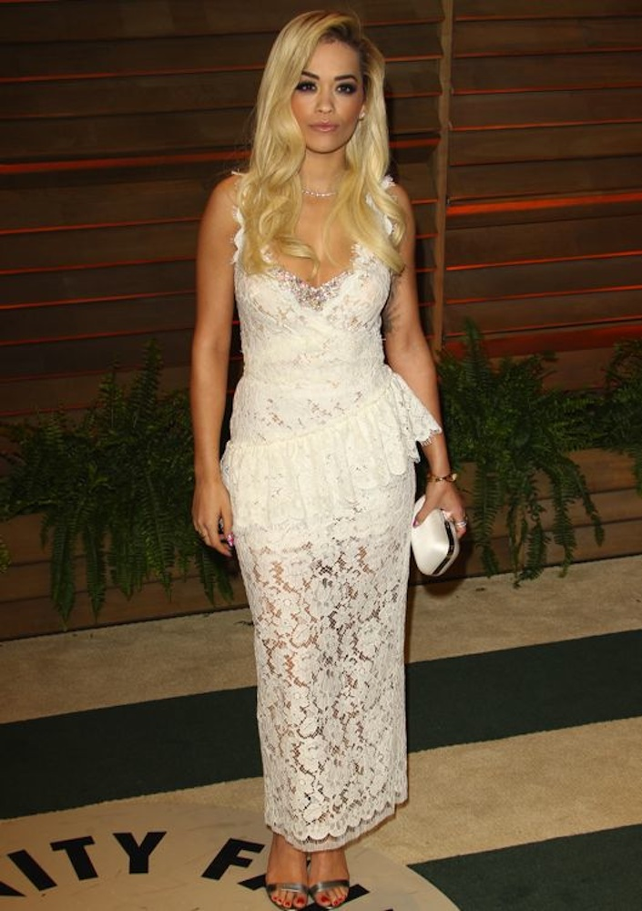 Rita Ora at the 2014 Vanity Fair Oscar Party