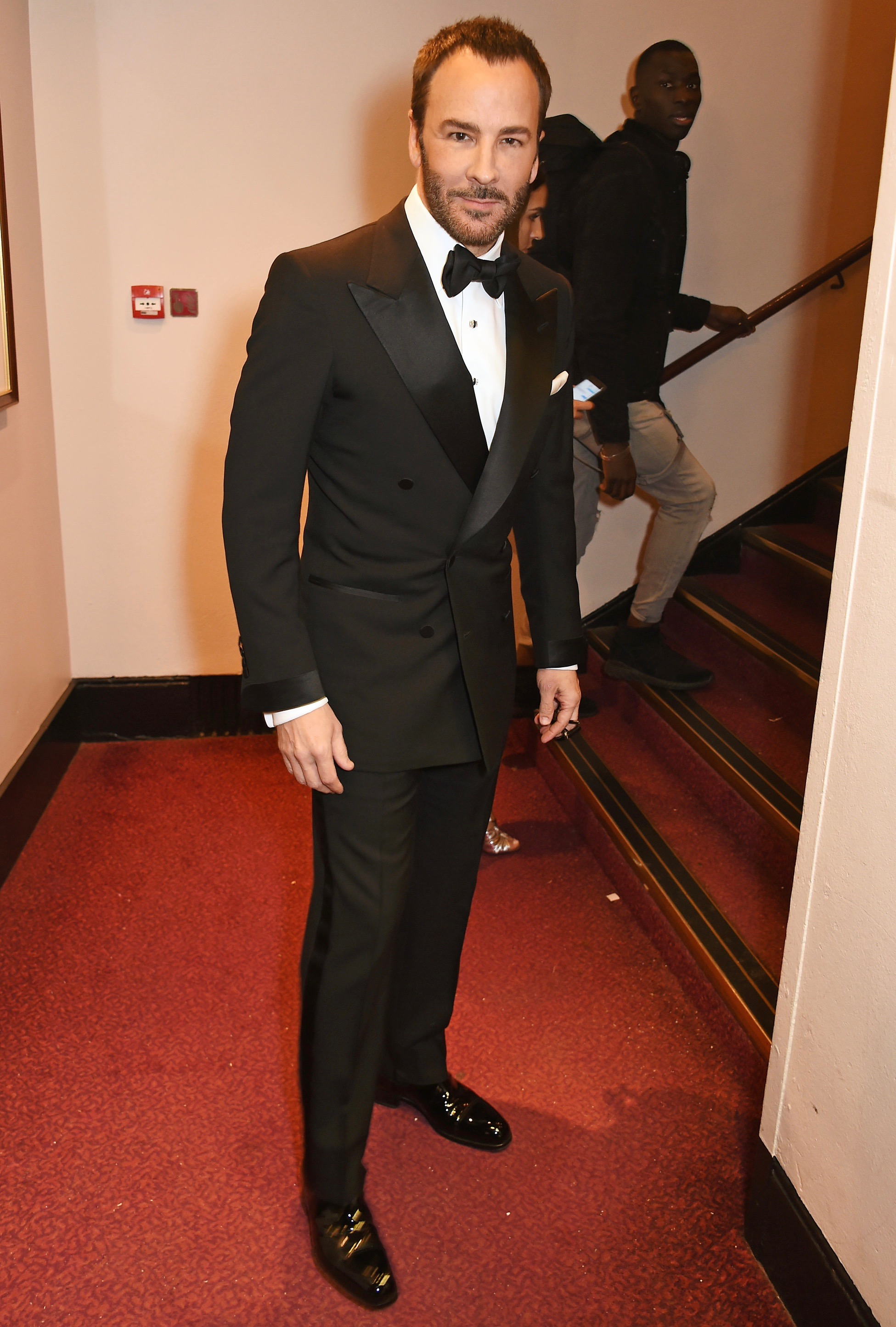Fashion designer tom ford at the hollywood something or other awards - Tom Ford