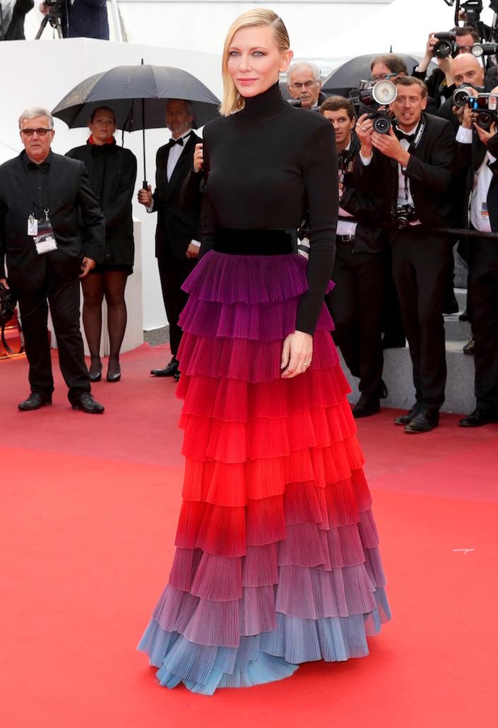 Cate Blanchett at the Premiere of BlacKkKlansman