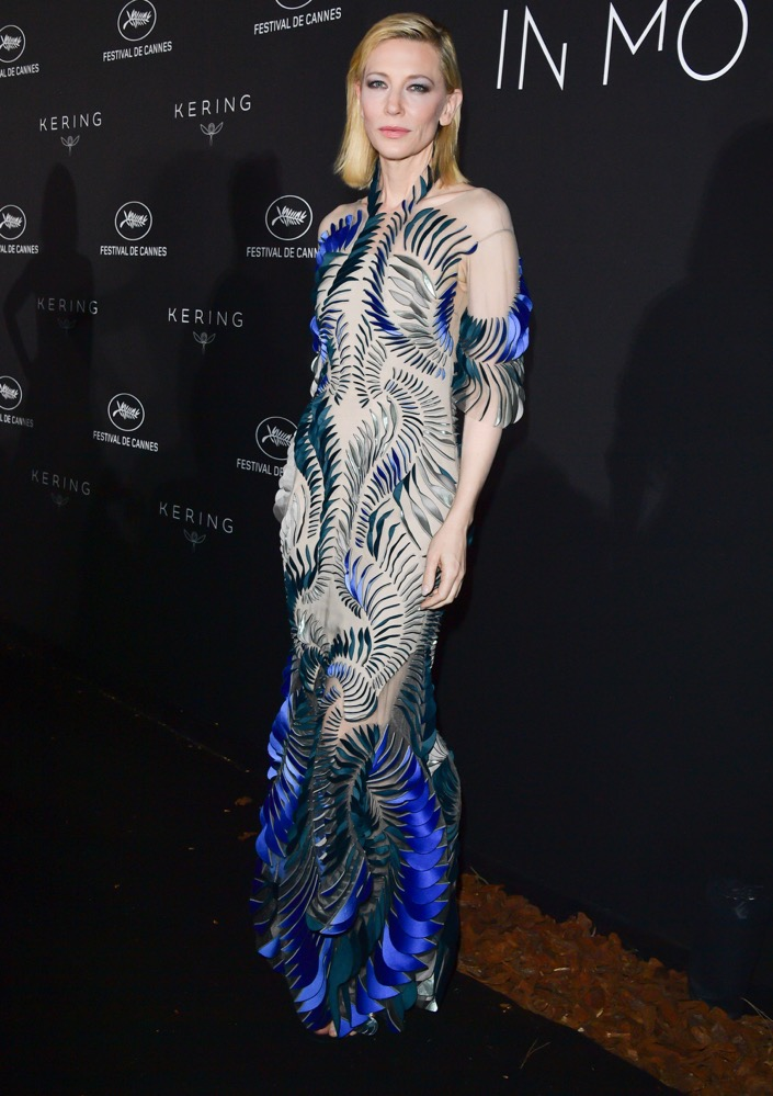 Cate Blanchett at the Kering x Cannes Dinner