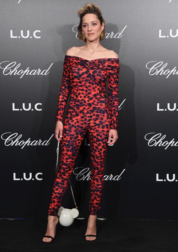 Marion Cotillard at the Chopard Gentlemen's Evening