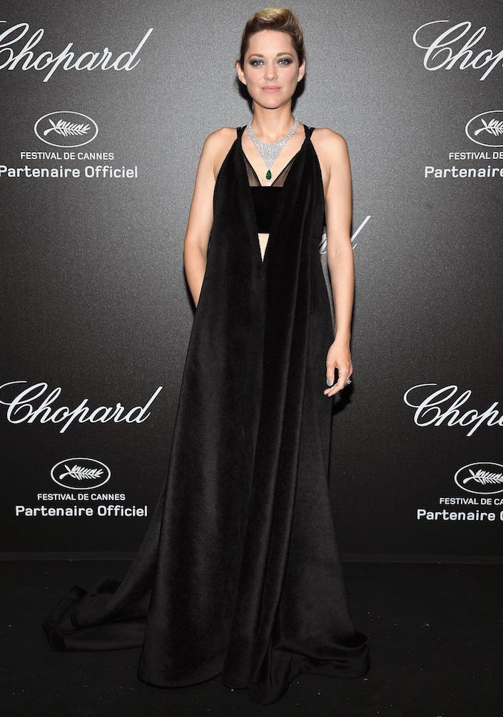 Marion Cotillard at Chopard's Secret Night