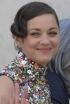The Summer Updo: Marion Cotillard