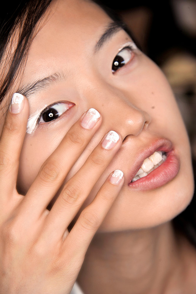 Nail Art Ideas: 21 Updated French Manicure Designs - theFashionSpot