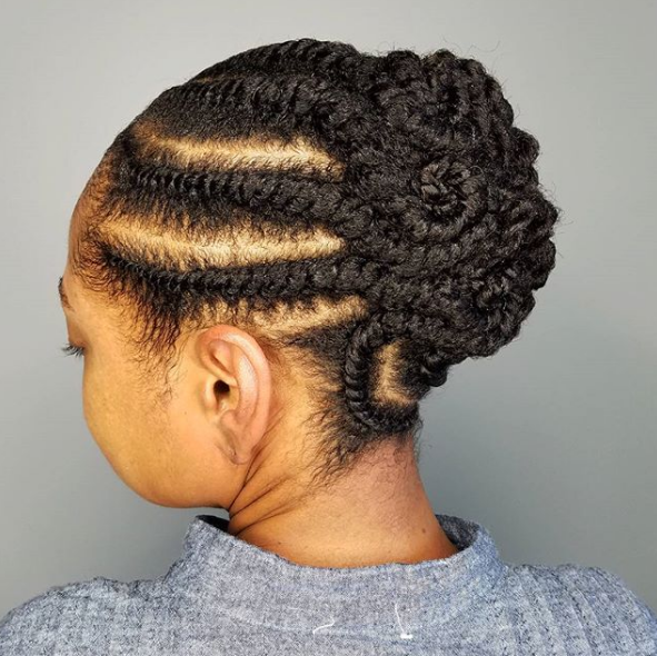 25 Twist Hairstyles for When You\'re Bored of Braids - theFashionSpot