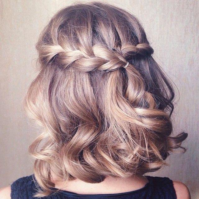 Fabulous 21 Cool Braids For Short Hair Thefashionspot Short Hairstyles Gunalazisus