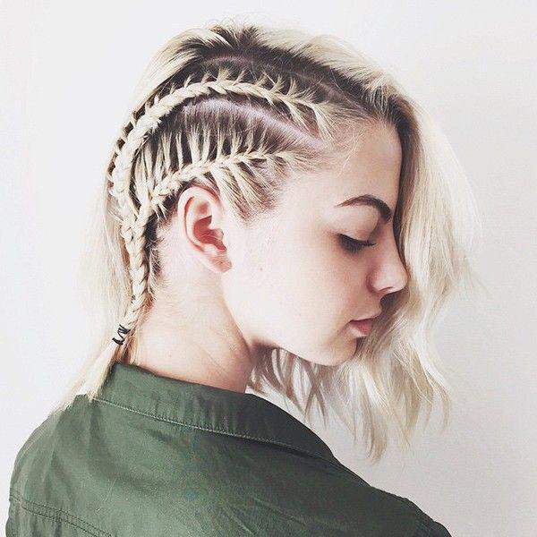 Cute Short Hair Braid Styles : 21 cool braids for short hair thefashionspot