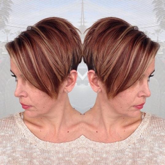 50 brilliant balayage hair color ideas thefashionspot copper lowlights urmus Gallery