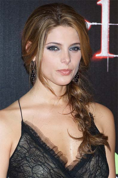 Ashley Greene's Side-Swept Braid