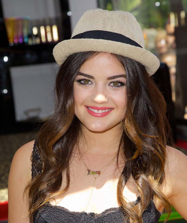 Lucy Hale's Summer Friendly Waves