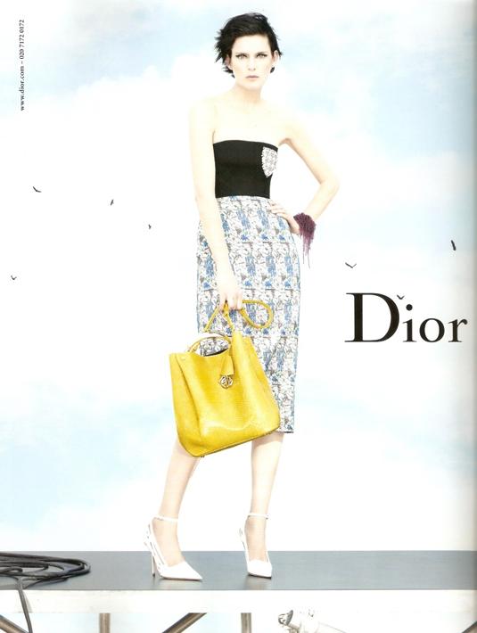 Stella Tennant for Christian Dior