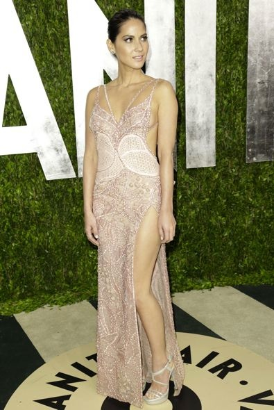 Olivia Munn at the 2013 Vanity Fair Oscar Party