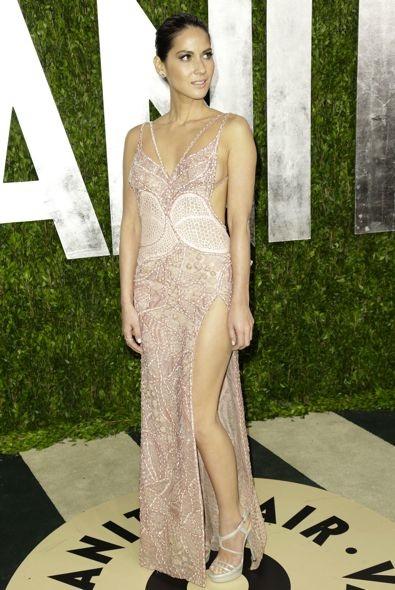 Olivia Munn at the 2013 Vanity Fair Oscar Party