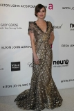 Emma Roberts at the 21st Annual Elton John AIDS Foundation's Oscar Viewing Party