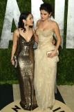 Vanessa Hudgens and Selena Gomez at the 2013 Vanity Fair Oscar Party