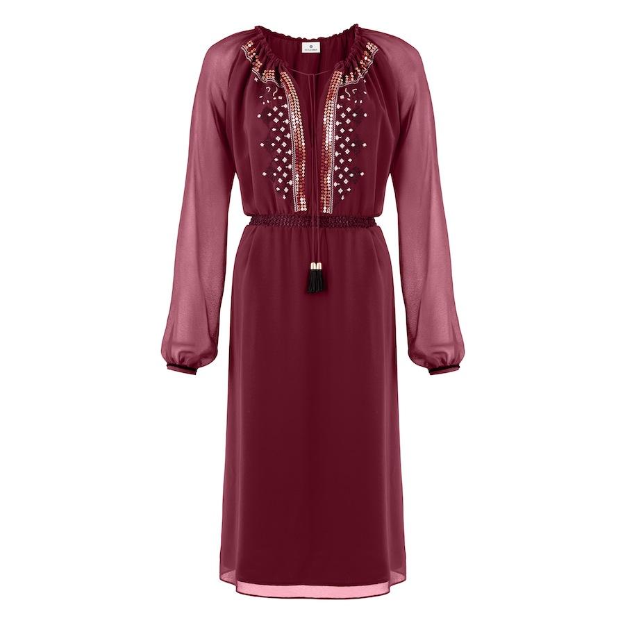 Romanian Dress In Red