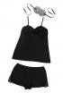 Cami Set In Black