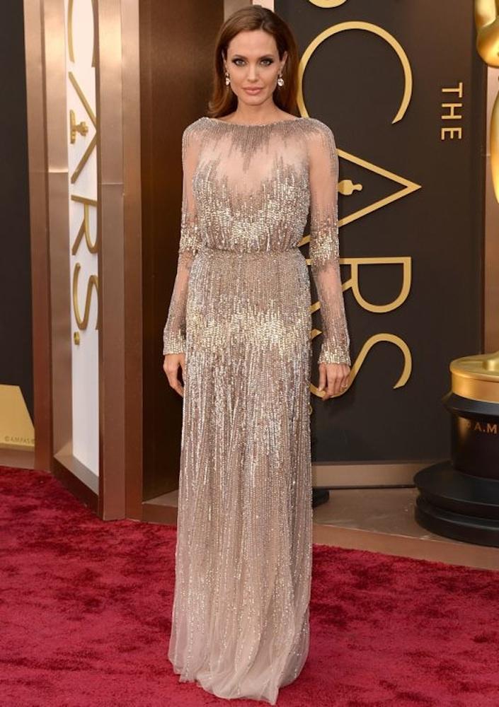 6. Angelina Jolie at the Oscars