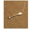 Arrow Necklace on Long Chain