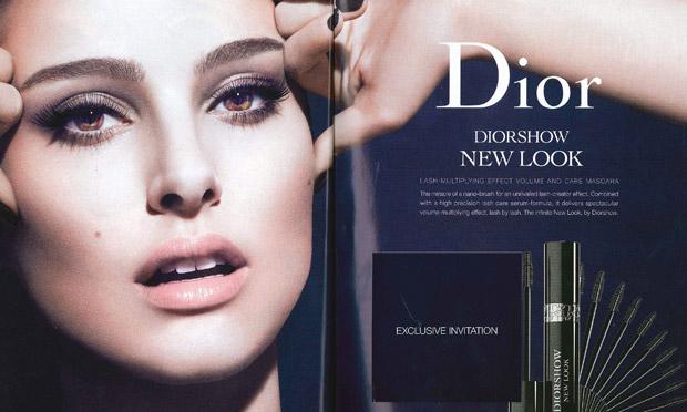 Natalie Portman for Christian Dior (Oct. 2012)