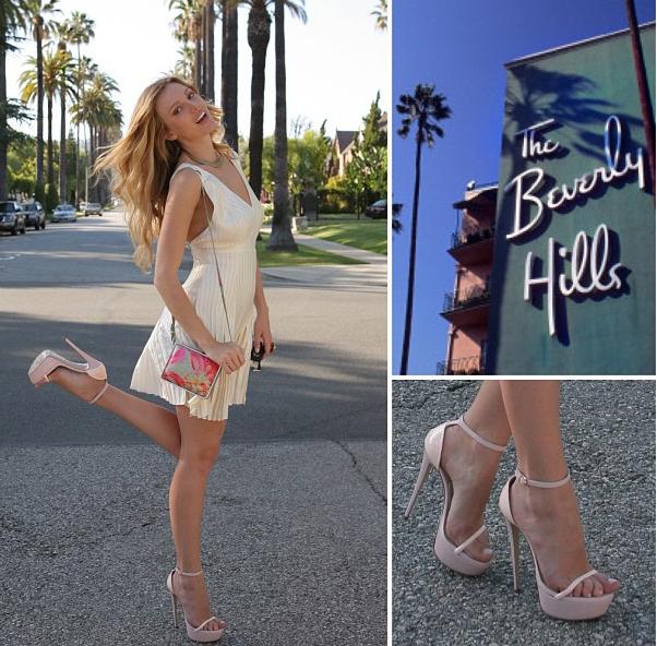 Hollywood Heel Kick