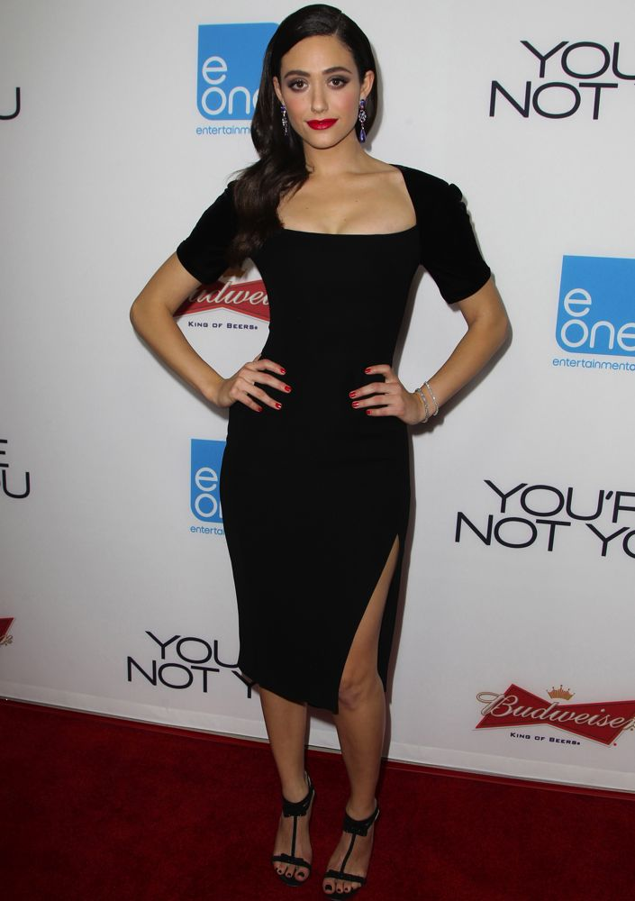 Emmy Rossum at the Los Angeles Premiere of You're Not You