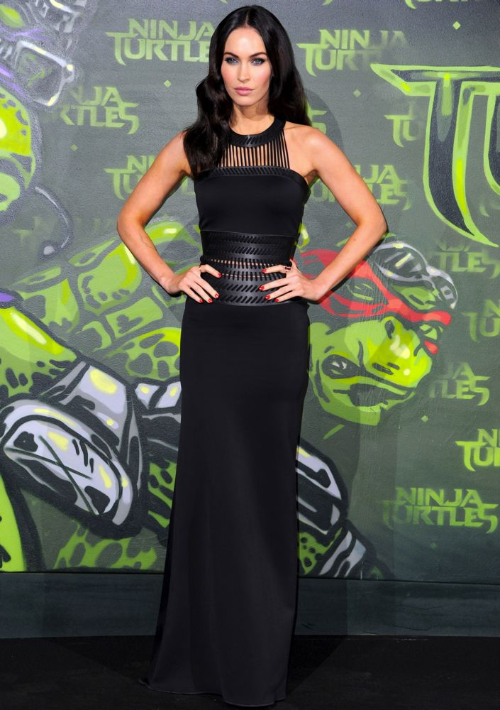 Megan Fox at the Berlin Premiere of Teenage Mutant Ninja Turtles