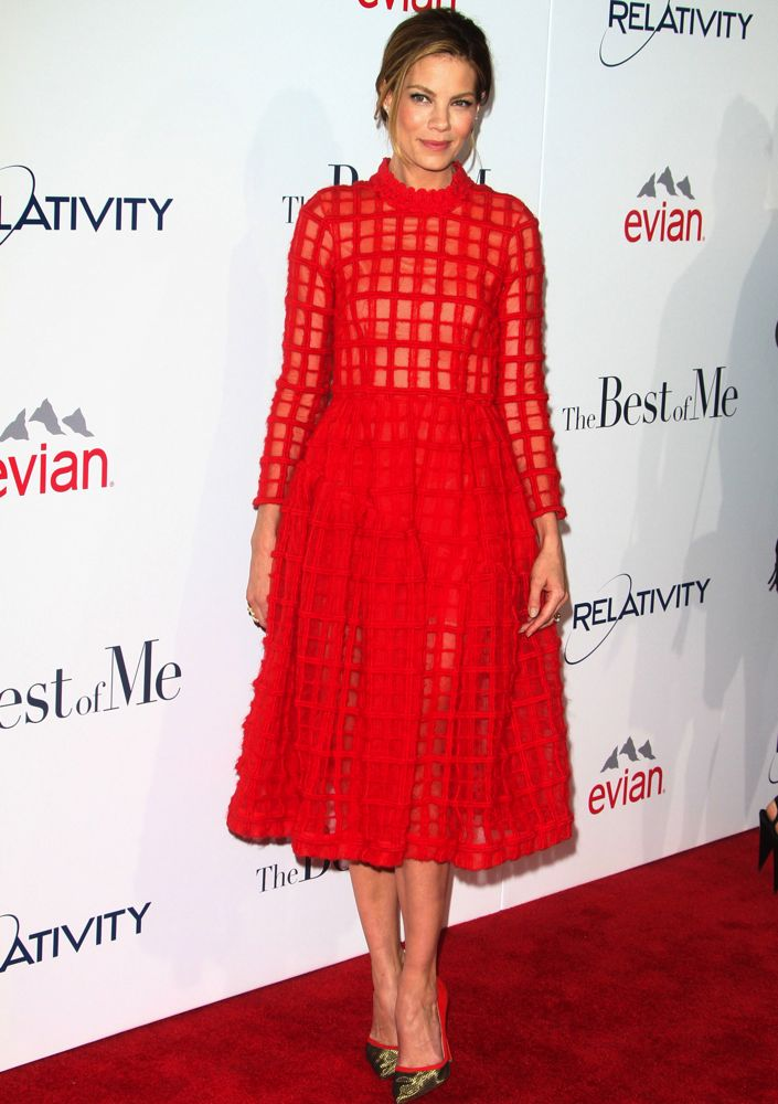 Michelle Monaghan at the Los Angeles Premiere of The Best of Me