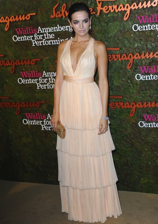 Camilla Belle at the Wallis Annenberg Center for the Performing Arts Inaugural Gala