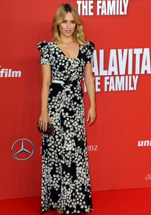 Dianna Agron at the Berlin Premiere of The Family
