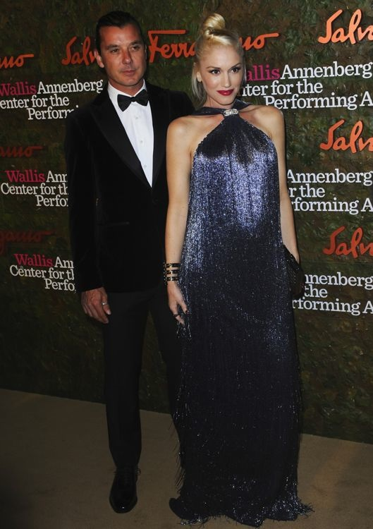 Gwen Stefani at the Wallis Annenberg Center for the Performing Arts Inaugural Gala