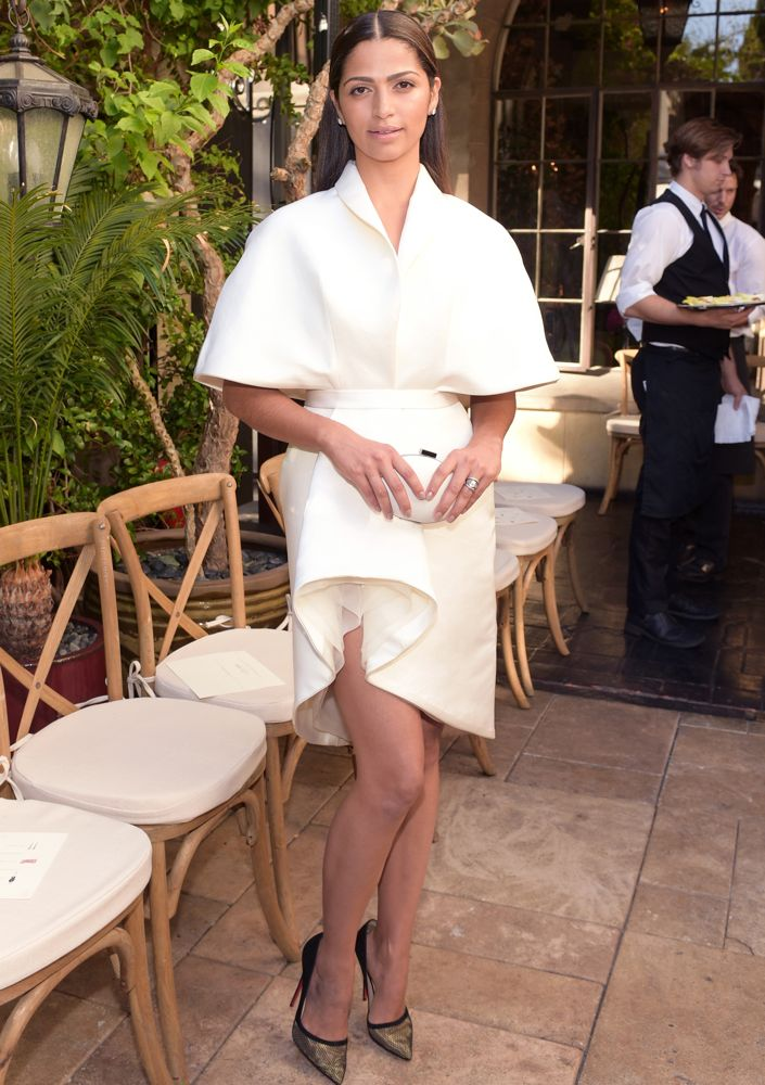 Camila Alves at the CFDA/Vogue Fashion Fund Event